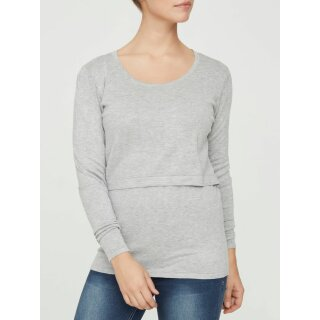 MLALEXANDRA knit top light grey